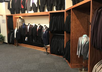 Come see our tuxedo selection.